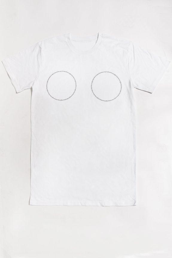 fur shampooBoobs T-shirt – White