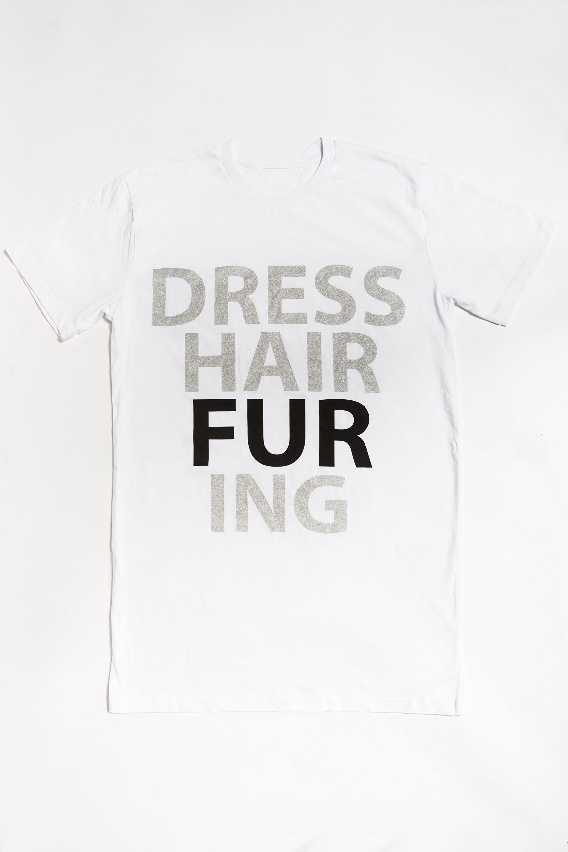 DRESS-HAIR-FUR-ING T-shirt – White